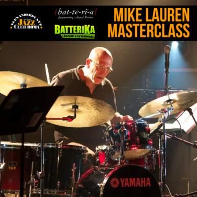 Masterclass con Mike Lauren / Batteria
