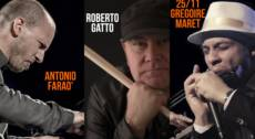 Antonio Faraò, Gregoire Maret, Roberto Gatto DEDICATO a Toots Thielemans