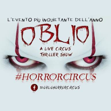 Oblio – A Thriller Circus Show @Cagliari il 22 marzo 2020