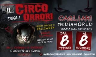 Oblio A Thriller Circus Show @Cagliari 9 ottobre 2020