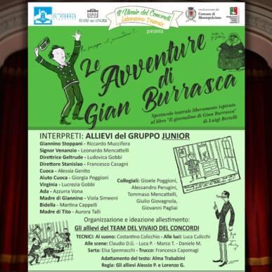 Le Avventure di Gian Burrasca – Sab. 22/02/2020