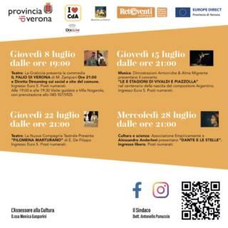 Le 8 Stagioni di Vivaldi e Piazzolla @ Estate al Castello 2021
