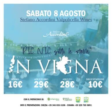Pic Nic sotto le stelle – Stefano Accordini Valpolicella wines