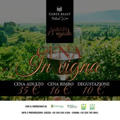 Cena in Vigna_Ferragosto_Corte Bravi – Valpolicella