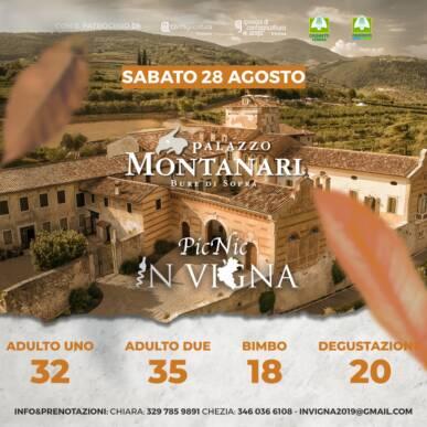 Pic Nic InVigna sotto le stelle – Palazzo Montanari – Valpolicella