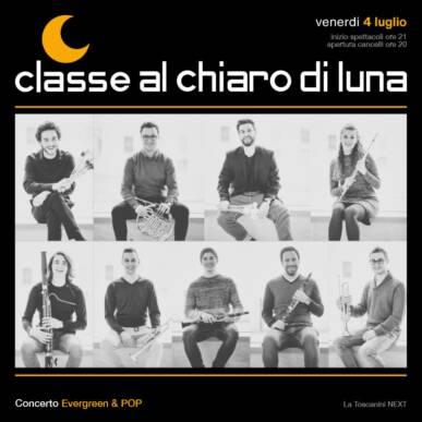 Concerto Evergreen & POP | Classe al chiaro di Luna 2020