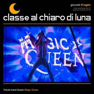 Concerto Queen Tribute band – Magic Queen | Classe al chiaro di Luna 2020