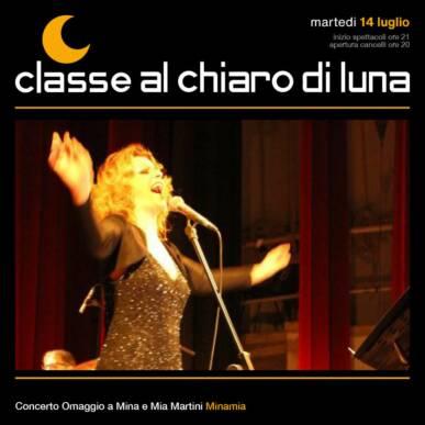 Concerto tributo Mina e Mia Martini – Minamia | Classe al chiaro di Luna 2020