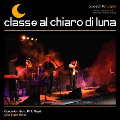 Concerto Pink Floyd Tribute Band – Like Black Holes in the Sky | Classe al Chiaro di Luna 2020
