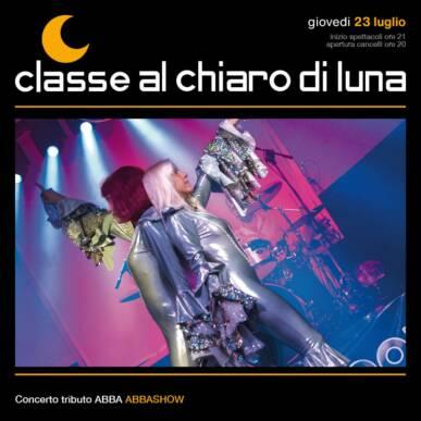 Concerto ABBA Tribute band – Abbashow | Classe al Chiaro di Luna 2020