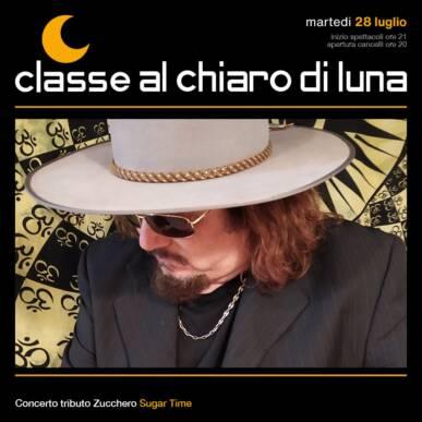 Concerto tributo Zucchero – Sugar time | Classe al Chiaro di Luna 2020