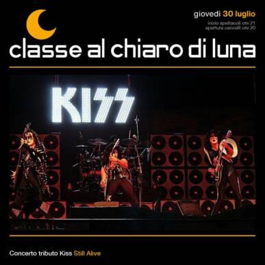 Concerto Kiss Tribute band – Still alive | Classe al Chiaro di Luna 2020