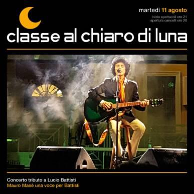 Concerto tributo Battisti – Mauro Masè | Classe al Chiaro di Luna 2020