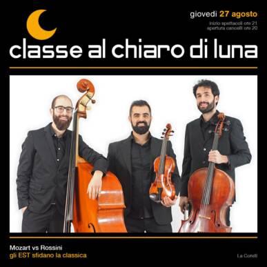 Mozart vs Rossini – Gli EST sfidano la classica | Classe al Chiaro di Luna 2020