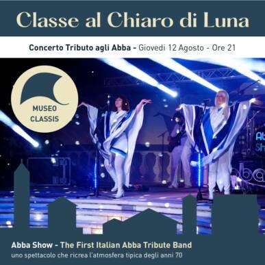 ABBA SHOW – tributo agli ABBA – CLASSE AL CHIARO DI LUNA