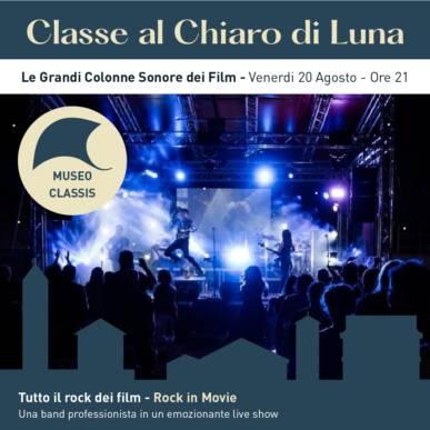 ROCK IN MOVIE – Tutto il rock dei film – CLASSE AL CHIARO DI LUNA