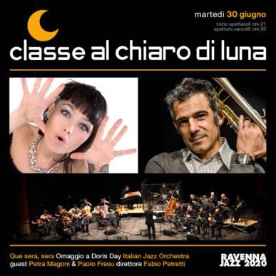 Que Sera, Sera – Italian Jazz Orchestra con Petra Magoni e Paolo Fresu – Classe al Chiaro di Luna 2020