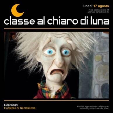 Spettacolo di burattini – Il castello di Tremalaterra – Classe al Chiaro di Luna 2020