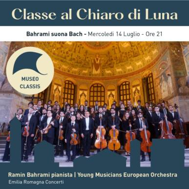 BAHRAMI SUONA BACH – concerto di musica classica – CLASSE AL CHIARO DI LUNA