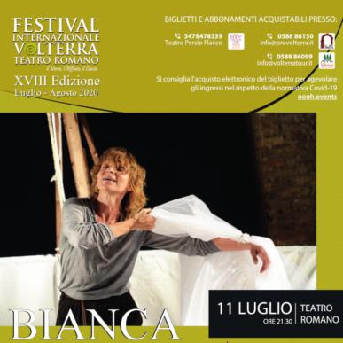 BIANCA – Un Omaggio a Moby Dick – Festival Internazionale Teatro Romano Volterra