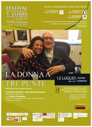 LA DONNA A TRE PUNTE – Festival Internazionale Teatro Romano Volterra