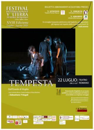 TEMPESTA – Festival Internazionale Teatro Romano Volterra