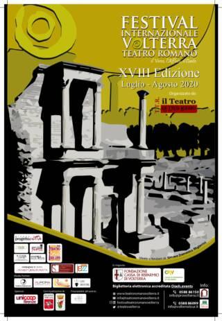 L'UOMO DAL FIORE IN BOCCA – poesie, novelle e altre pazzie – Festival Internazionale Teatro Romano Volterra