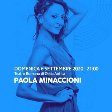 Paola Minaccioni: Dal Vivo Sono Molto Meglio 26 settembre 2020