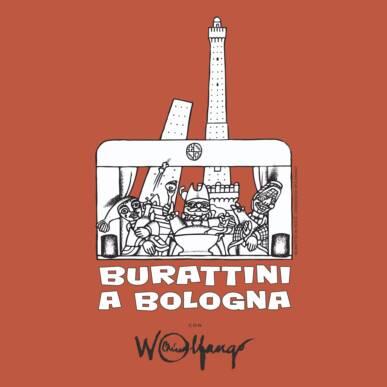 SGANAPINO E' MANCINO E SUONA IL VIOLINO – Burattini a Bologna con Wolfango – Estate 2020