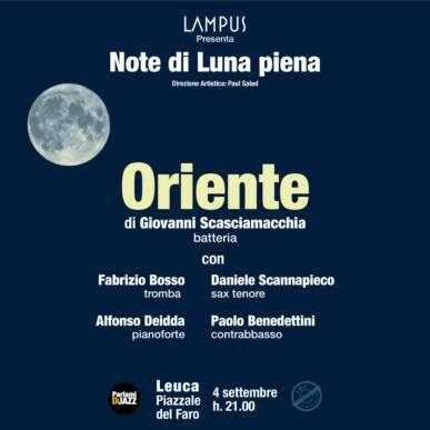Note di Luna Piena – Il grande Jazz ai piedi del Faro di Leuca