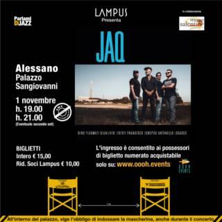 Concerto di presentazione di JAQ – Jazz Art Quartet