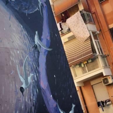 NUOVA DATA – San Basilio on the road: i colori esplosivi di una borgata di Roma Est!