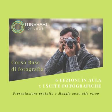 """""""Scatta e Impara"""": nuovo corso base di fotografia! Giovedì 7 Maggio 2020!"""