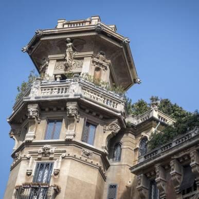 Scoprendo il Quartiere Coppedè… con il 50 mm! Un Viaggio tra Fiaba e Realtà!