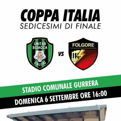 Unitas Sciacca Calcio – Dolce Onorio Folgore
