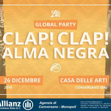 Clap!Clap! + AlmaNegra (Global Party Night)