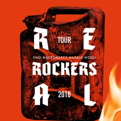 Real Rockers (Ensi, Macro Marco, MadKid, Moddi)