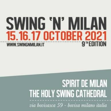 SWING'N'MILAN 2021 – 15/10/2021