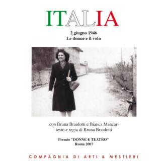 """TERRE IN FESTIVAL – """" ITALIA – Le donne italiane al voto"""" 14 agosto 2021"""