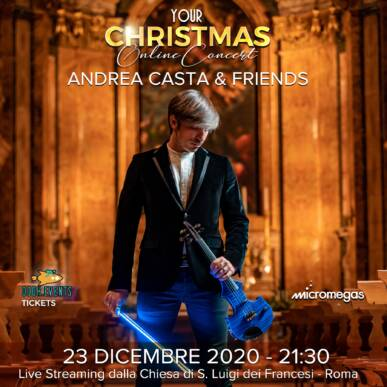 Your Christmas Concert – Andrea Casta & Friends