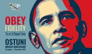 OBEY FIDELITY: The Art of Shepard Fairey – 16 ottobre 2021