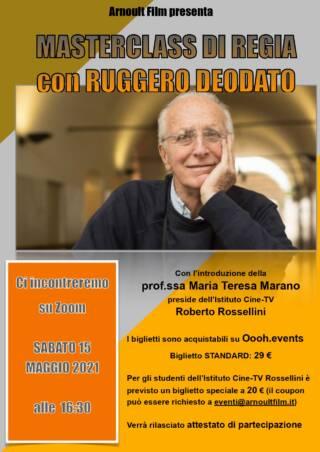 Masterclass di regia di Ruggero Deodato