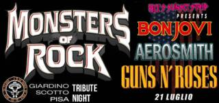 80's Sunset Strip in Monsters of Rock Tribute Night