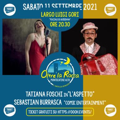 Oltre La Rocca Festival @ Montecatini Alto Sabato 11 Settembre ore 20.30