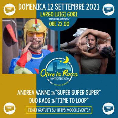 Oltre La Rocca Festival @ Montecatini Alto Domenica 12 Settembre ore 22