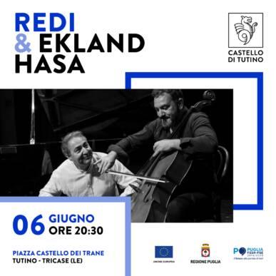 """Cena con Spettacolo – Redi & Ekland Hasa in """"Tempistiche irregolari"""""""