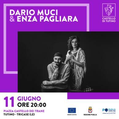 Spettacolo con degustazione – Enza Pagliara e Dario Muci @ Castello di Tutino