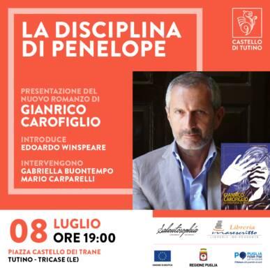 Aperitivo letterario con Gianrico Carofiglio