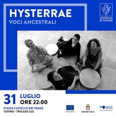 Concerto – Hysterrae – Castello di Tutino 31/07/2021