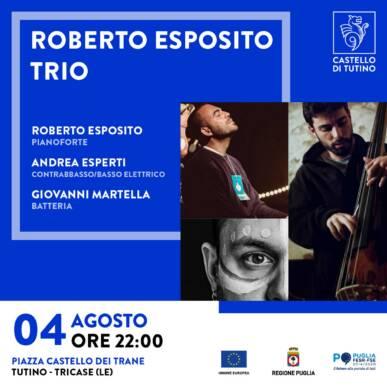 Concerto – Roberto Esposito Trio – Castello di Tutino 04/08/2021